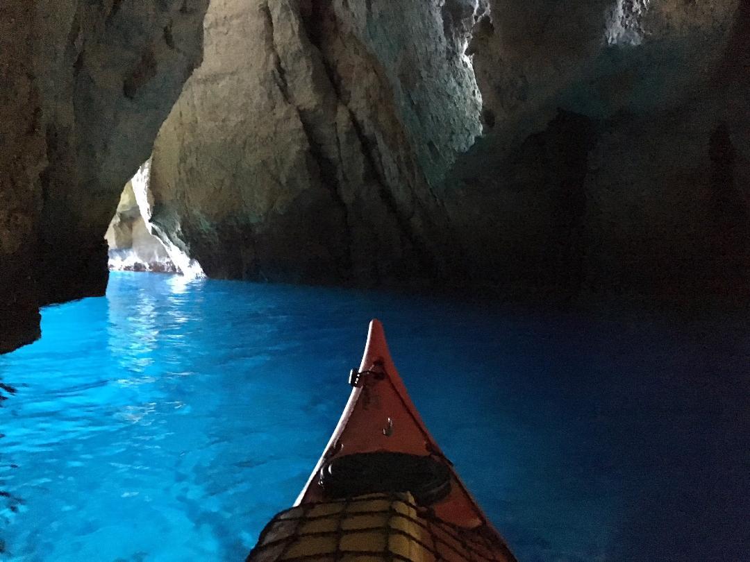 """alt=""""galerie de photo de randonnée kayak avec guide calanque de l oule calanques de marseille"""""""