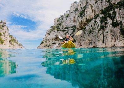 """alt=""""en-vau calanques immersion kayak marseille calanque de marseille"""