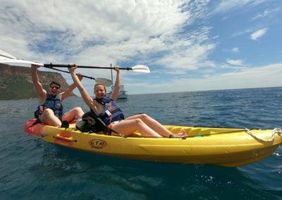 """alt=""""randonnée en kayak avec guide cassis un partage d'émotions """""""