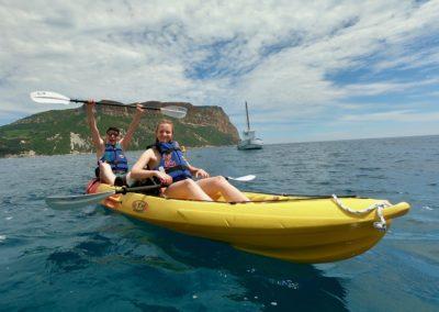 """alt=""""visite guidée en kayak à Cassis"""""""
